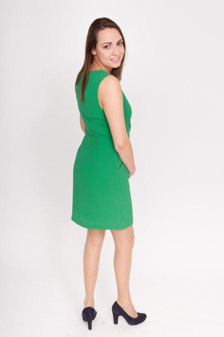 Groen jurkje basic
