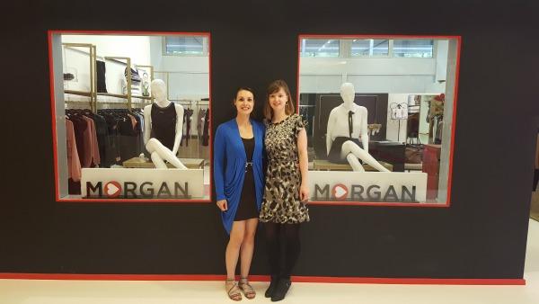 In het World Fashion Center bij de showroom van Morgan de Toi