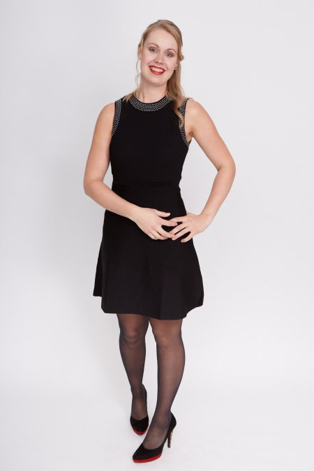 Iets Nieuws Zwarte jurk voor begrafenis | Populaire jurken Modellen 2018 #KI75