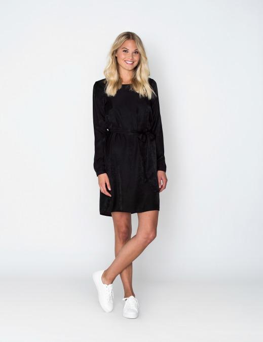 Zwart Basic Jurkje.Simple Love Black Dress Jurkjes Online Kopen Bij Mydresscode