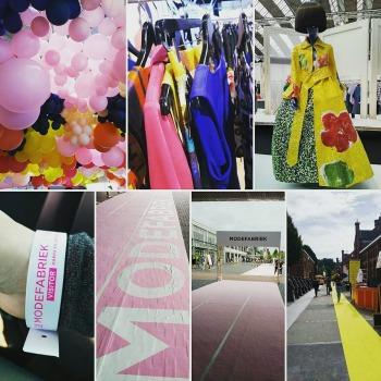 Bezoek aan Modefabriek in RAI Amsterdam juli 2017