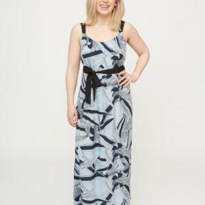 lichtlbauwe-maxi-dress-met-donkerblauwe-bloemenprint-vk