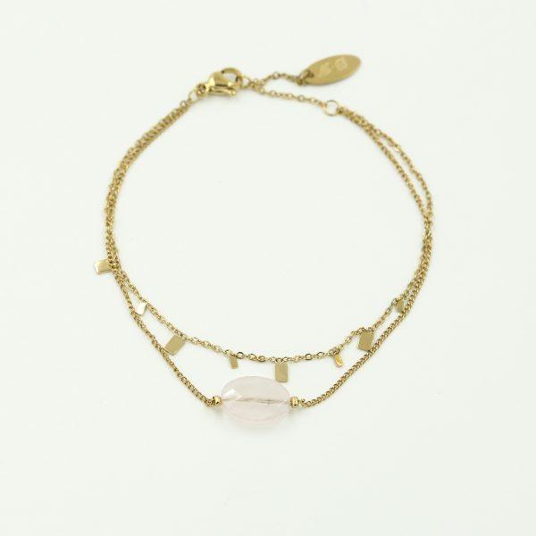 goudkleurig-nikkelvrij-dubbel-armbandje-met-lichtroze-steentje