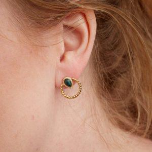 goudkleurige-nikkelvrije-oorbellen-met-donkergroen-steentje-extra