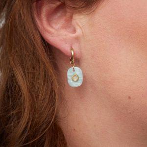 goudkleurige-nikkelvrije-oorringetjes-met-mintgroen-steentje-vk