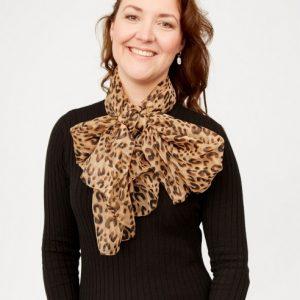 lichtbruine-shawl-met-zwarte-panterprint-vk