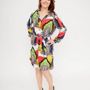 witte-jurk-met-felgekleurde-natuurprint-vk