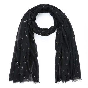 zwarte-shawl-met-goudkleurige-ankertjes