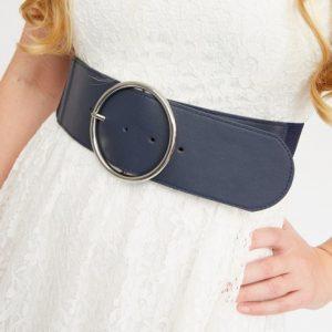 donkerblauwe-brede-tailleriem-met-elastiek-extra