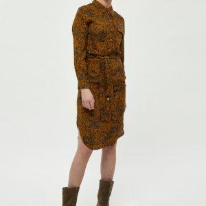 roestbruine-jurk-met-herfstachtige-print-in-petrol-okergeel-vk
