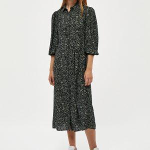 zwarte-midi-jurk-met-petrolkleurige-bloemenprint-vk