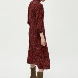 zwarte-midi-jurk-met-rode-bloemenprint-ak